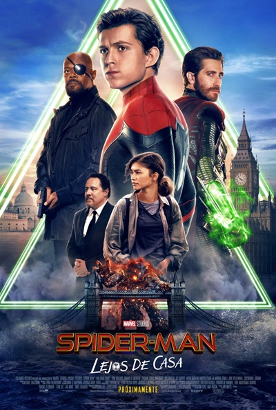 Spider-Man: Lejos de casa (cartel)