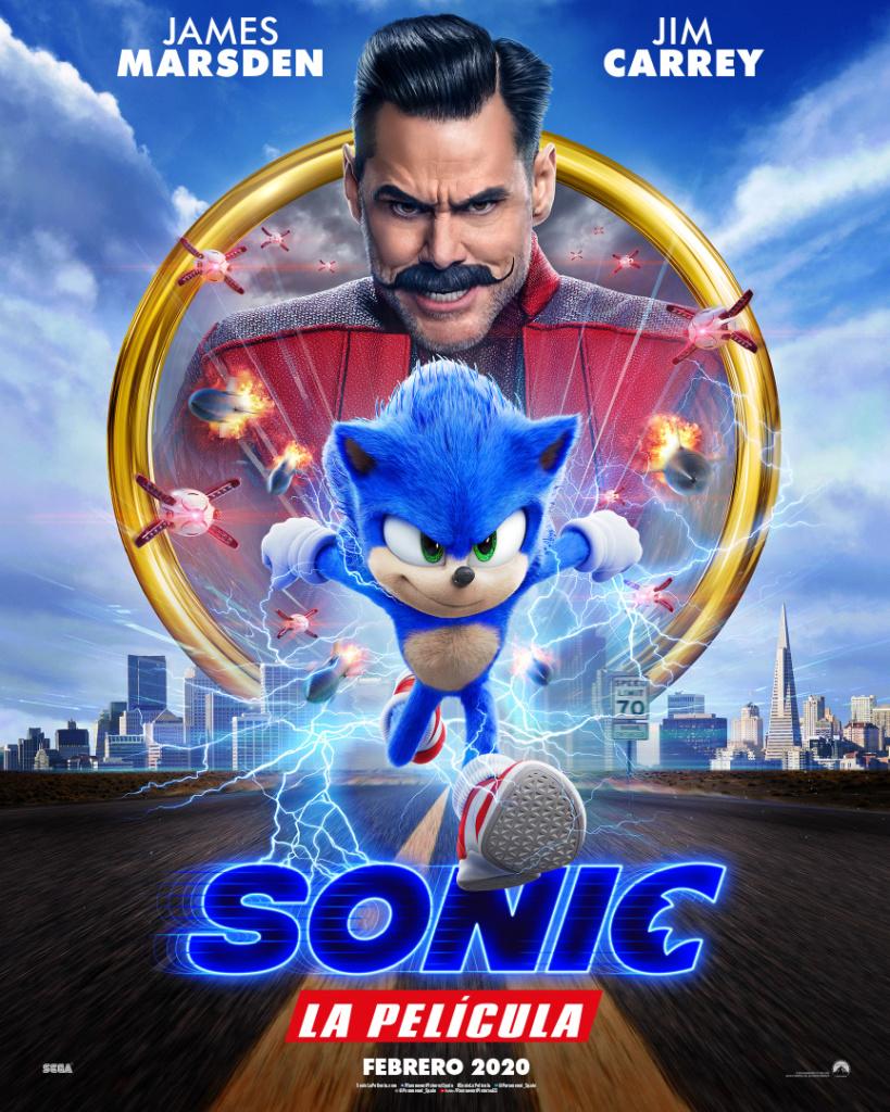Sonic, la película (cartel)