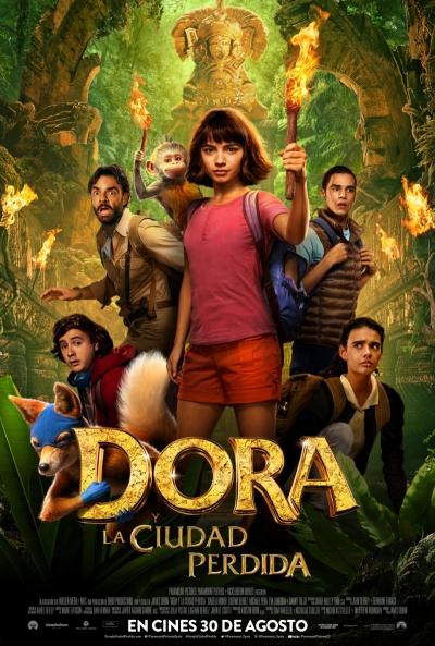 Dora y la ciudad perdida (cartel)