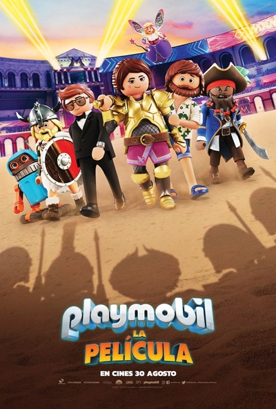 Playmobil: La película (cartel)