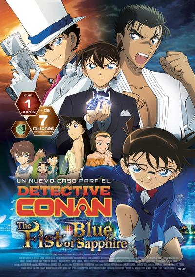 Detective Conan: El puño de zafiro azul (cartel)
