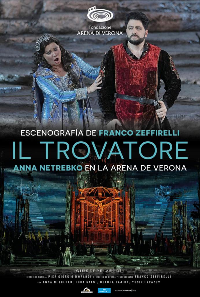 Ópera. IL TROVATORE (cartel)