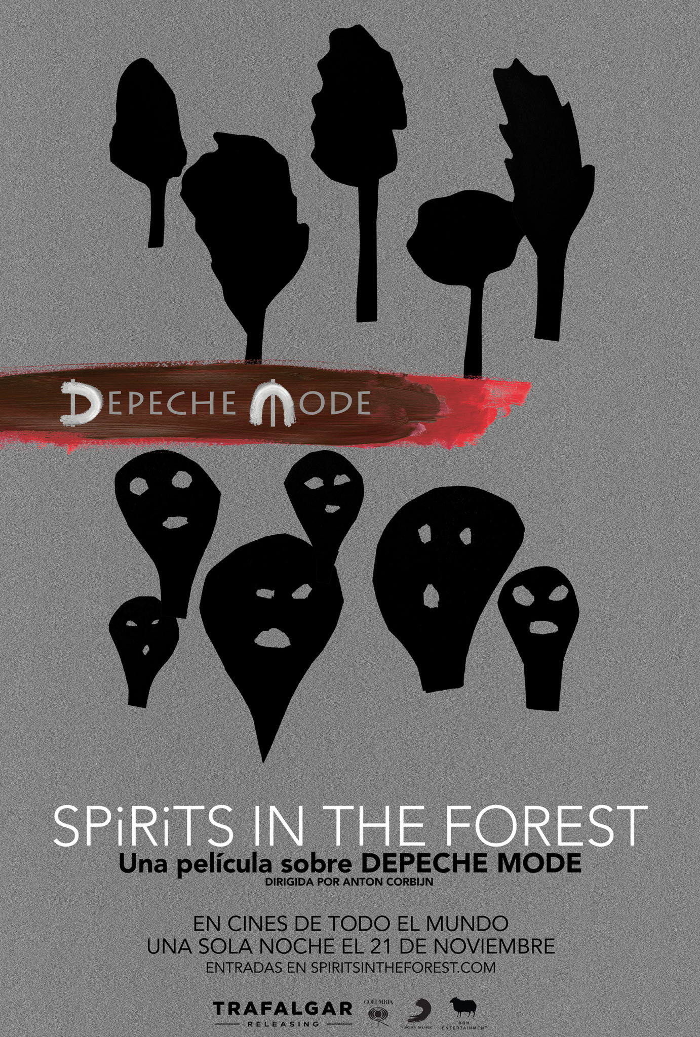 Aficine Live  Music!<br>DEPECHE MODE <br>SPIRITS IN THE FOREST