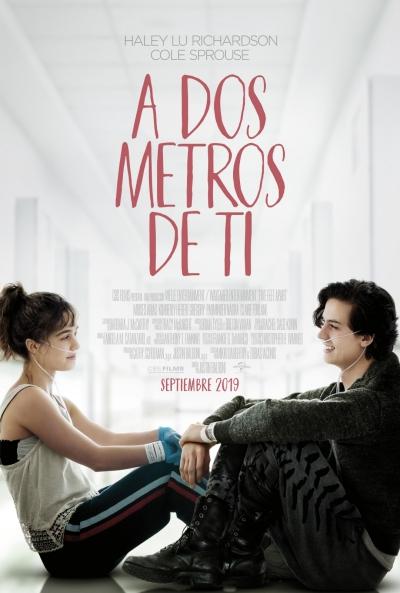A dos metros de ti (cartel)