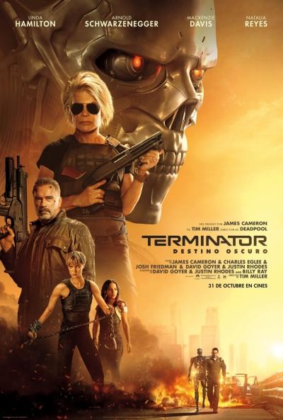 Terminator: Destino oscuro (cartel)
