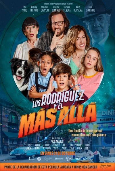 Los Rodríguez y el más allá (cartel)