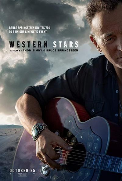 Aficine LIVE MUSIC! Western Stars (cartel)