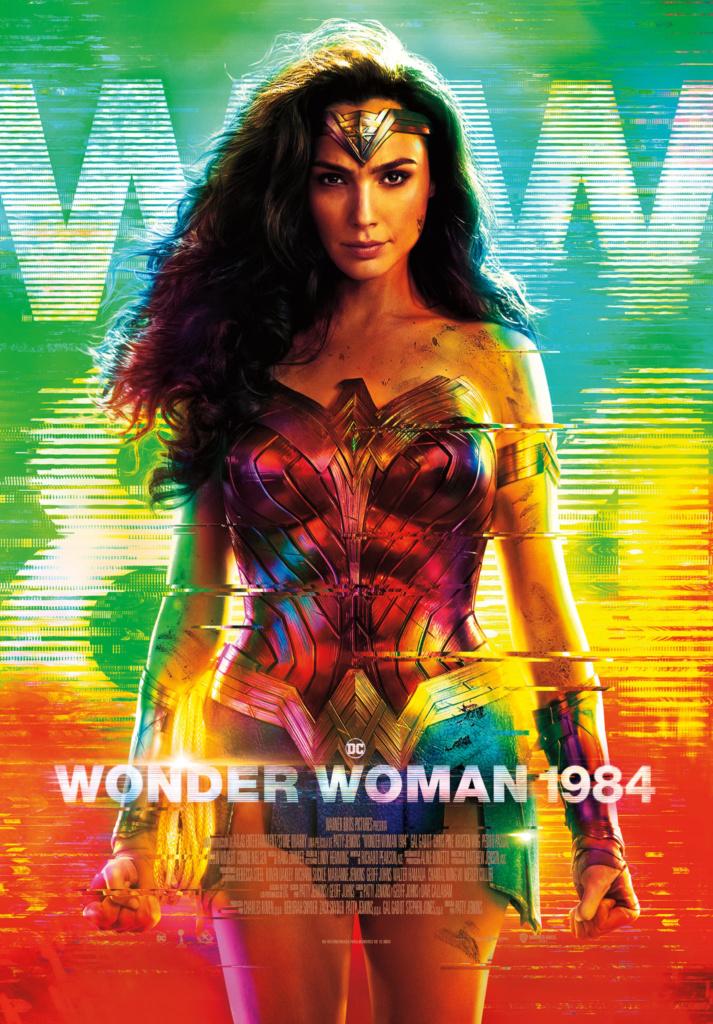 Wonder Woman 1984 (cartel)