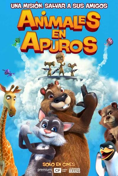 Animales en apuros (cartel)