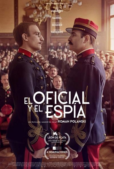 El oficial y el espía (cartel)