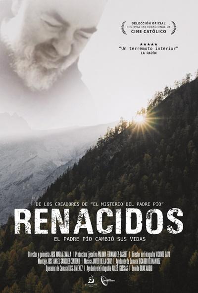 Renacidos: El Padre Pío cambió sus vidas (cartel)