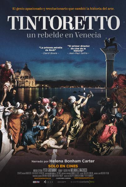 Arte. TINTORETTO, UN REBELDE EN VENECIA (cartel)