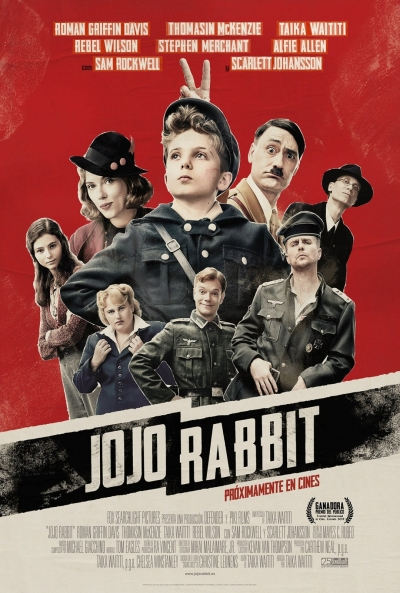 Jojo Rabbit (cartel)