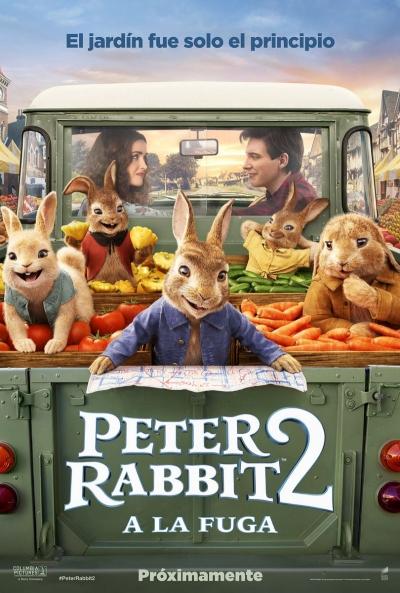 Peter Rabbit 2: A la fuga (cartel)