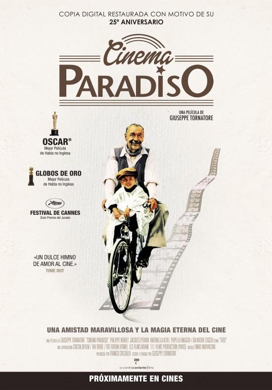 CINEMA PARADISO (cartel)