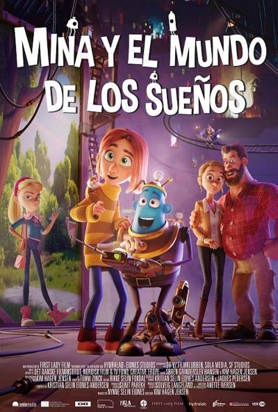 Mina y el mundo de los sueños (cartel)