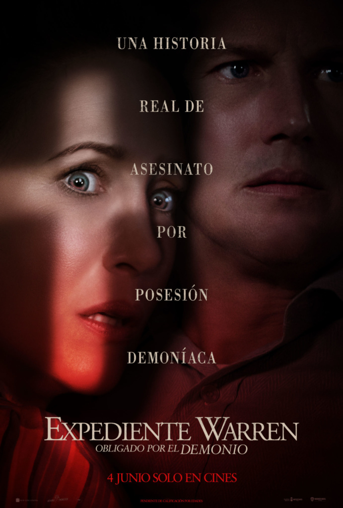 Expediente Warren: Obligado por el demonio (cartel)