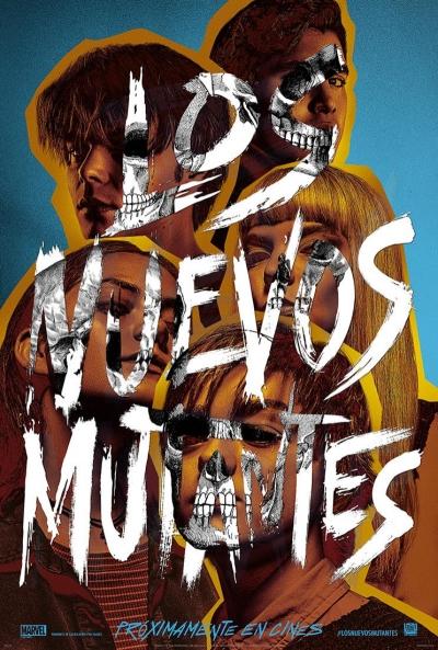 Los nuevos mutantes (cartel)