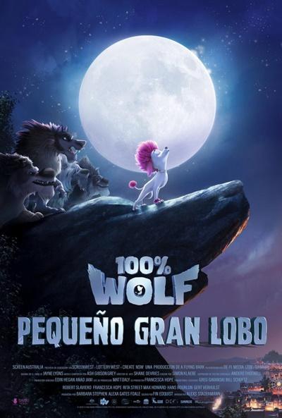 100% Wolf: Pequeño gran lobo (cartel)