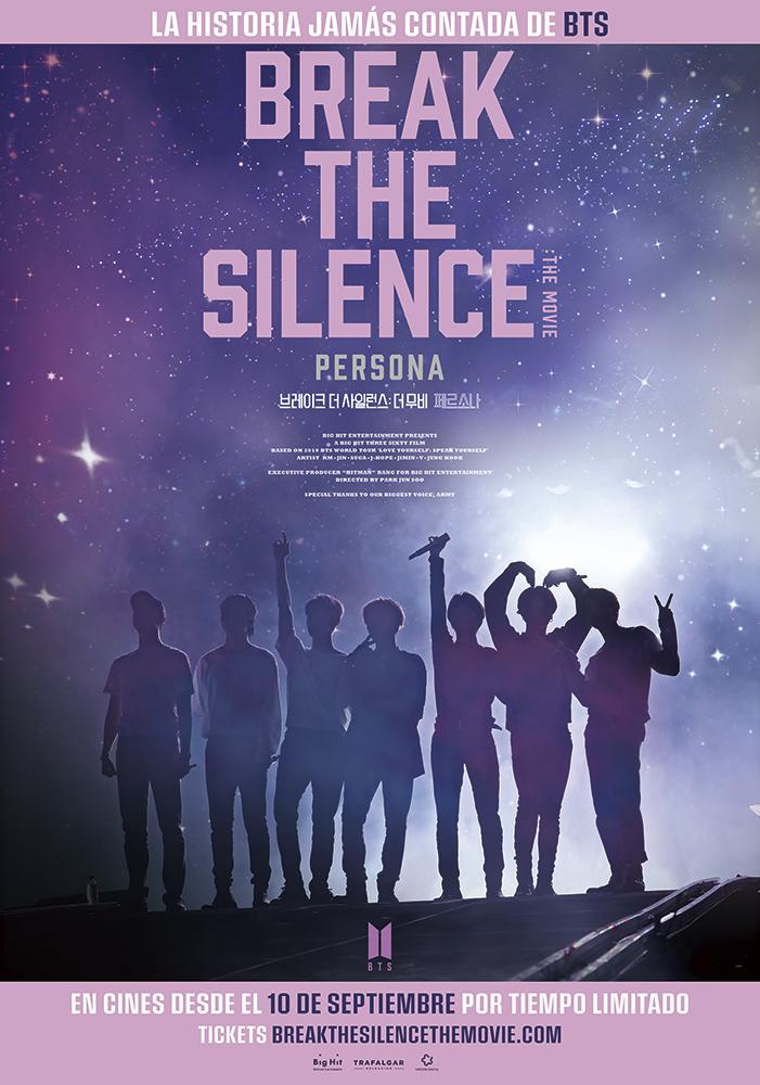 AFICINE LIVE MUSIC<br>BTS BREAK THE SILENCE: TE MOVIE (cartel)