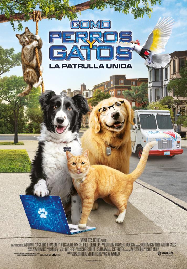 Como perros y gatos: La patrulla unida (cartel)