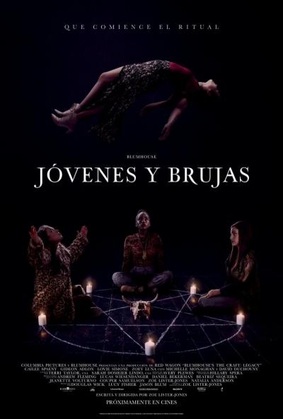Jóvenes y brujas (cartel)
