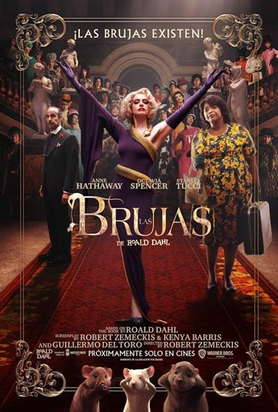 Las Brujas (de Roald Dahl) (cartel)