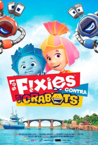 Los Fixies contra los Crabots (cartel)