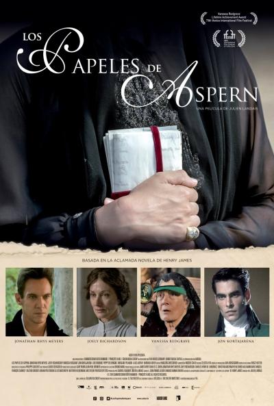 Los papeles de Aspern (cartel)