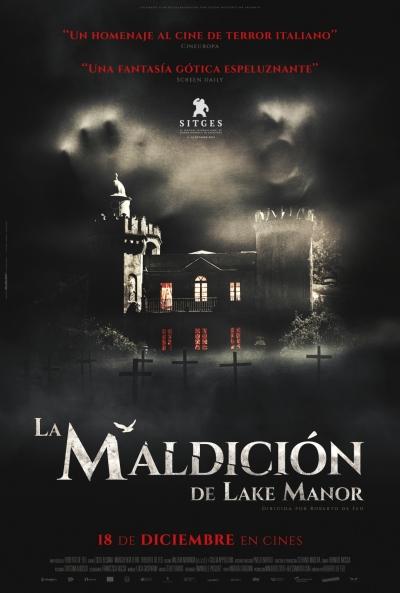 La maldición de Lake Manor (cartel)