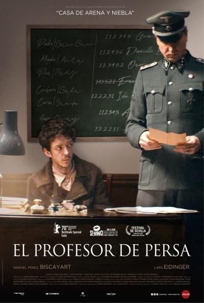 El profesor de persa (cartel)