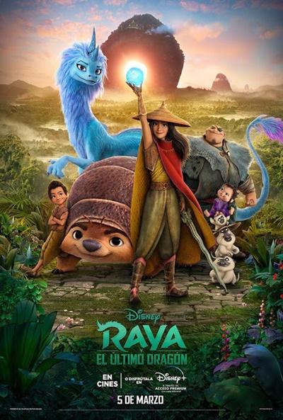 Raya y el último dragón (cartel)