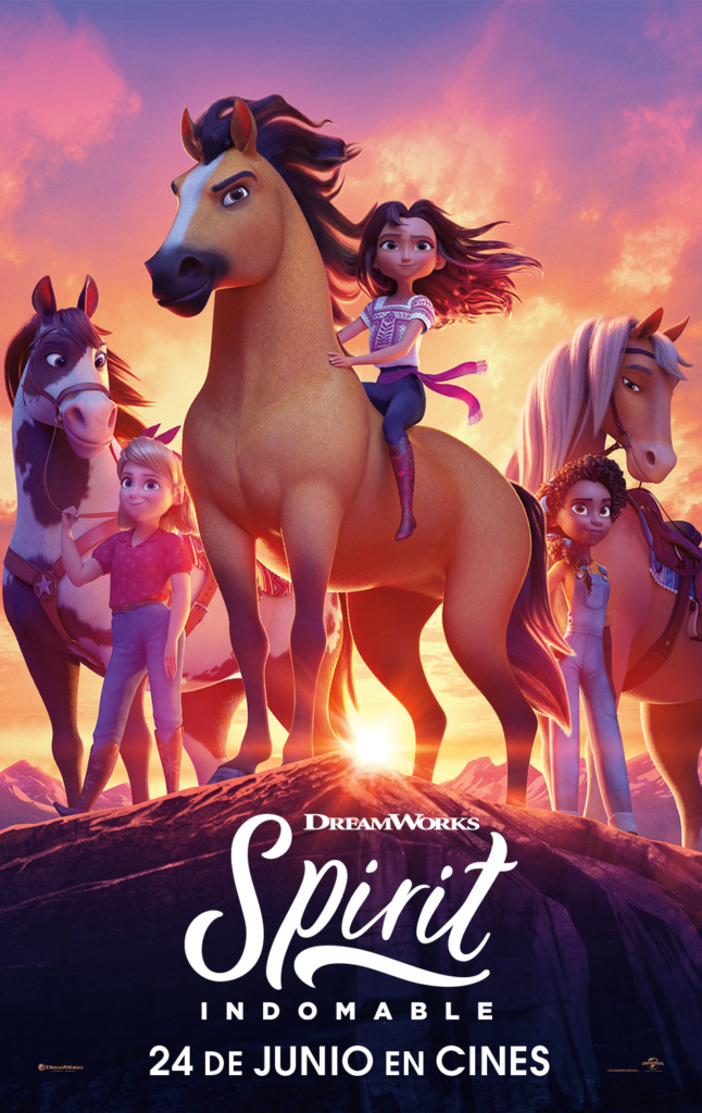 Spirit: Indomable (cartel)