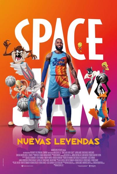 Space Jam: Nuevas leyendas (cartel)