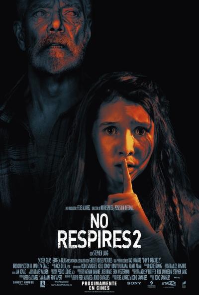 No respires 2 (cartel)