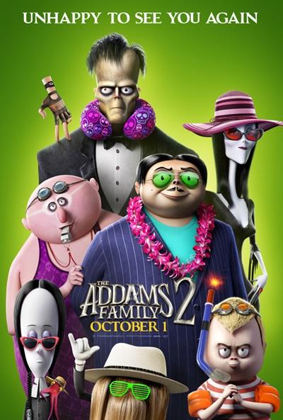 La familia Addams 2: La gran escapada (cartel)