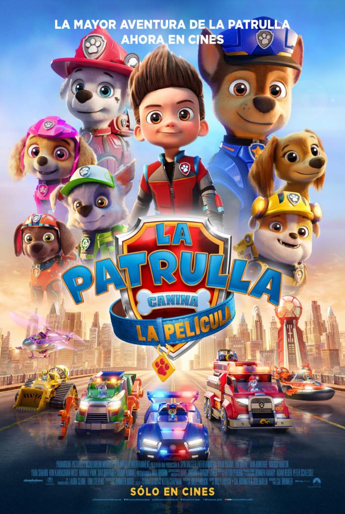 La Patrulla Canina: La película (cartel)
