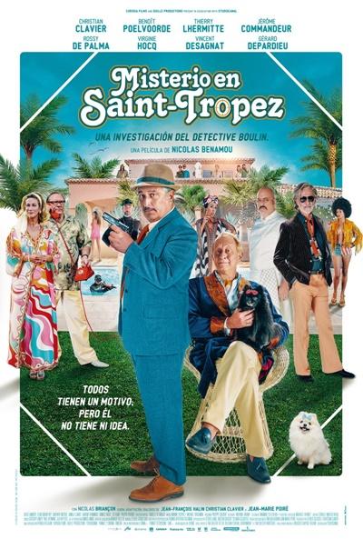 Misterio en Saint-Tropez (cartel)