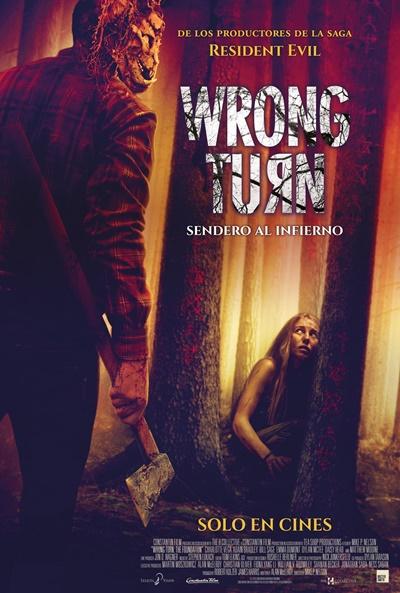 Wrong Turn. Sendero al infierno (cartel)