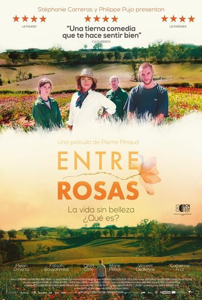 Entre rosas (cartel)