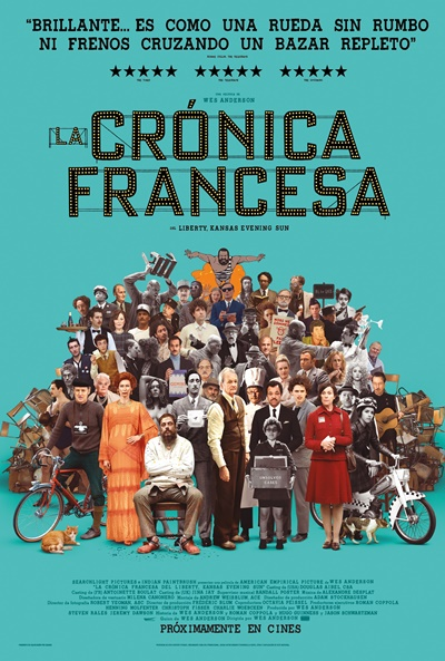 La crónica francesa (cartel)